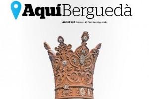 La corona mai vista de la Mare de Déu de Queralt en exclusiva a l'edició d'agost de la revista AquíBerguedà