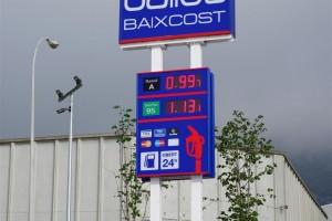 El dièsel comença a baixar de l'euro a les gasolineres del Berguedà