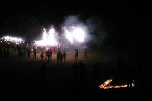 La colla dels Dimonis Socarrimats celebra el seu 20è aniversari durant la Festa Major de Borredà d'enguany
