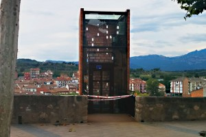 Problemes d'humitat han fet tancar dos dies l'ascensor de Gironella