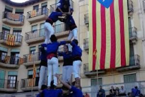 A la recta final de la temporada, els Castellers de Berga esperen arribar als 100 castells de set pisos