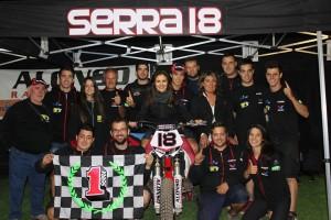 El gironellenc Franc Serra es proclama campió de la Copa Rodi Dirt Track