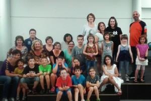 La coral infantil Xerics, de Berga, estrenarà aquest curs l'espectacle Tic Tac