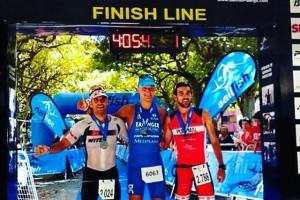 Andreas Dreitz aconsegueix el rècord de la Sailfish half triatló de Berga
