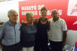 La Marató d'acapte de sang de Berga rep 299 donants