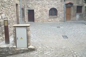 Bagà estrena la remodelació de la plaça i del passatge de l'Especier, al nucli antic
