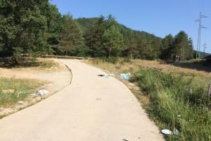 La Riera de Merlès tanca la temporada d'estiu amb millores però amb la necessitat de més accions per evitar que es degradi