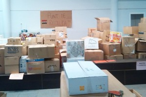 La recollida de material que Berga fa per als refugiats sirians canvia de local i obre tota la setmana