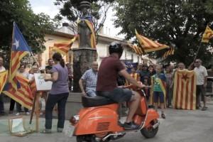 El vídeo de l'ANC del Berguedà fa un recorregut per tota la comarca sobre una vespa