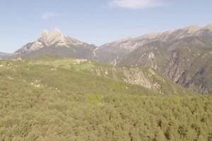 El DIPLOCAT promociona el Berguedà amb imatges gravades des d'un drone