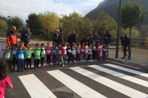 Una seixantena d'escolars participen a la Cursa del Bolet de Guardiola de Berguedà