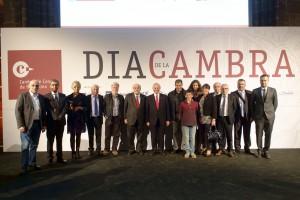 Quatre empreses del Berguedà reben el reconeixement de la Cambra de Comerç per la seva trajectòria