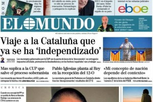 Berga, la Catalunya que ja s'ha independitzat d'Espanya, segons 'El Mundo'