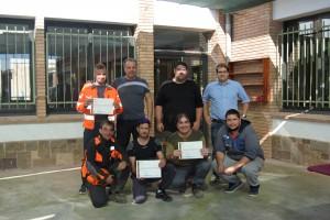 Cinc persones a l'atur de Cal Riera reben formació per treballar al bosc