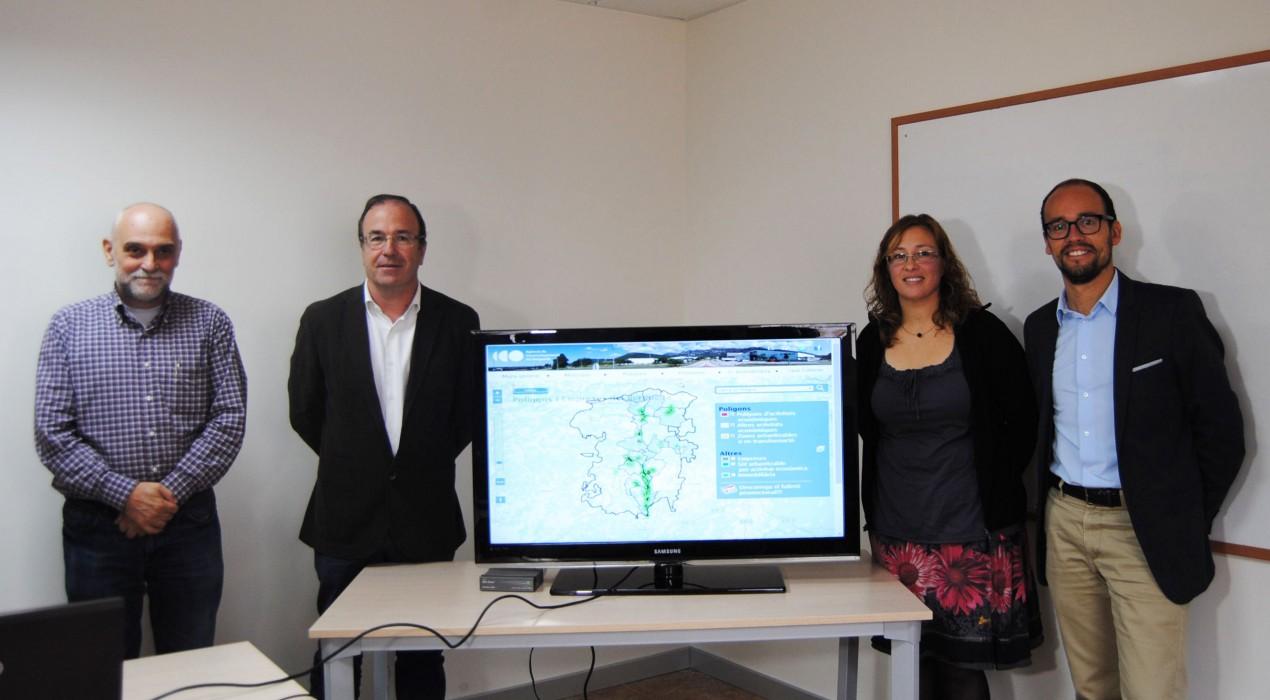 El Berguedà presenta una plataforma virtual amb tota la informació del sòl industrial de la comarca per captar empreses
