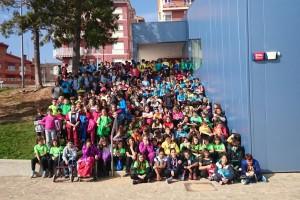 Prop de 600 escolars del Berguedà participen a les jornades multiesportives