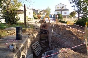 Borredà renova el clavegueram, la xarxa d'aigua i la pavimentació d'una part del poble
