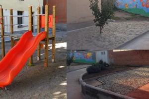 Gironella adequa els patis de les dues escoles públiques de primària