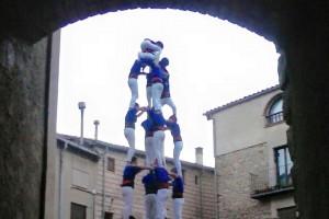 Els Castellers de Berga tanquen temporada i ja tenen repte per a la següent, el castell 2 de 7