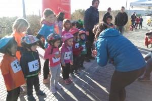 Uns seixanta infants participen al duatló escolar de Berga