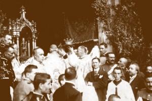Ramon Felipó recopila en un llibre postals centenàries de Queralt i de Berga