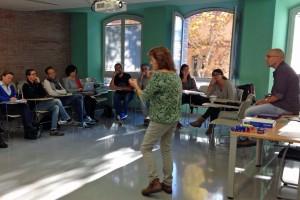 Regidors d'Ensenyament del Berguedà comparteixen amb el diputat de la Diputació Rafael Homet prioritats educatives locals