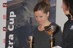 La berguedana Anna Ventura, tercera classificada de la Catalonia Ultra Cup
