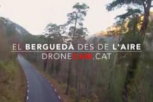 El Berguedà a vista de drone