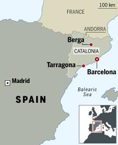 Mapa del Financial Times