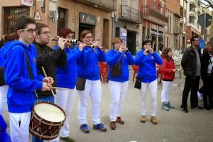 Els Castellers de Berga promouen una Escola de Grallers i Timbalers