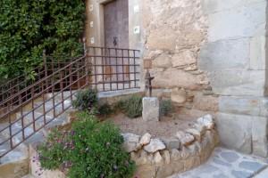Borredà instal·la una nova escultura al poble, donació de Josep Roma