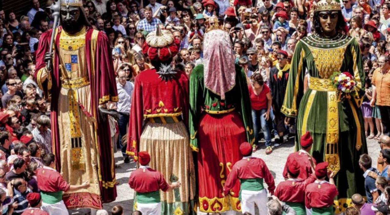 La pujada dels gegants de la Patum a Queralt es complementarà amb un dinar a Berga