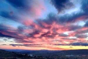 Els colors del cel berguedà, des de Berga a Montserrat