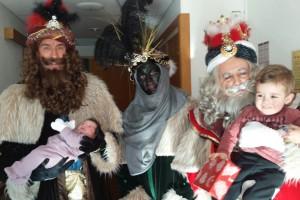 El primer nadó nascut al Berguedà es fa esperar fins al dia de Reis, és la Mia Prat Casasampere