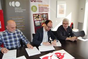 Acord a tres bandes per millorar i agilitzar l'ocupació al Berguedà