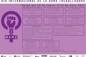 Berga enceta els actes en motiu del Dia Internacional de la Dona Treballadora