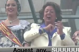 Rita Barberá al Carnestoltes de Berga