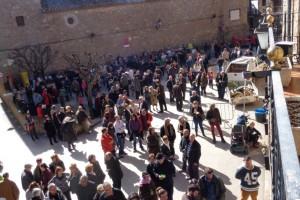 Més de 800 persones participen a la festa de la Matança del porc de Borredà