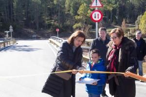Montmajor inaugura les obres del Pont de Sorba i del camí del cementiri