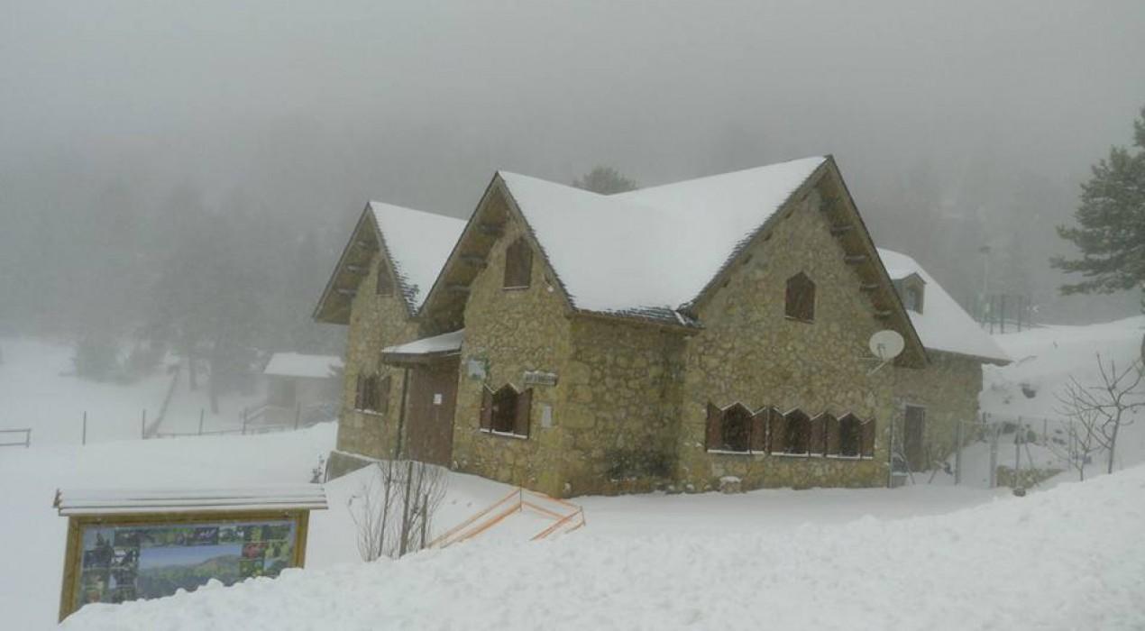 La neu també emblanquina el Berguedà