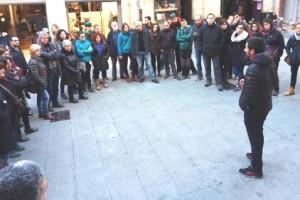 Recta final dels actes de reivindicació de la memòria històrica, a Berga