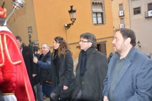 El funeral per a mossèn Ballarín reuneix la plana major de la política i la societat catalanes