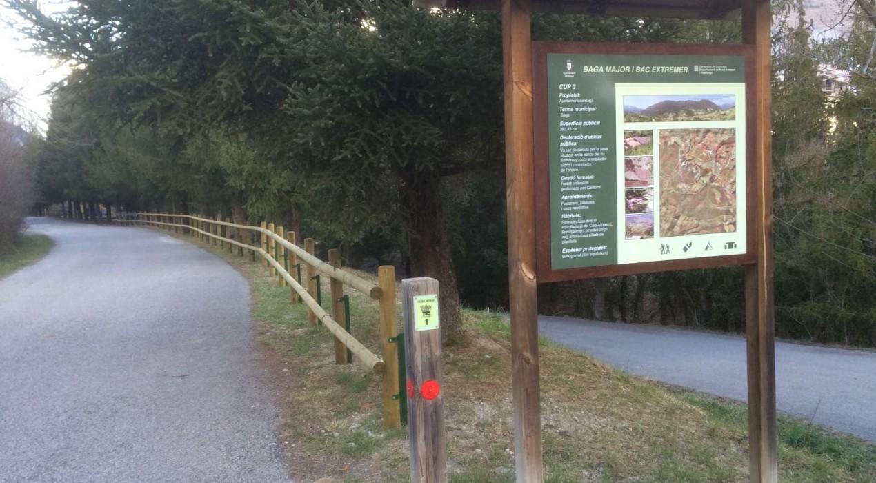 El Berguedà obté finançament per millorar camins de muntanya