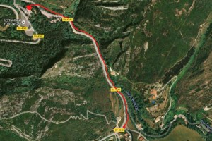 Comencen les obres per construir un camí per a vianants a la carretera de Queralt