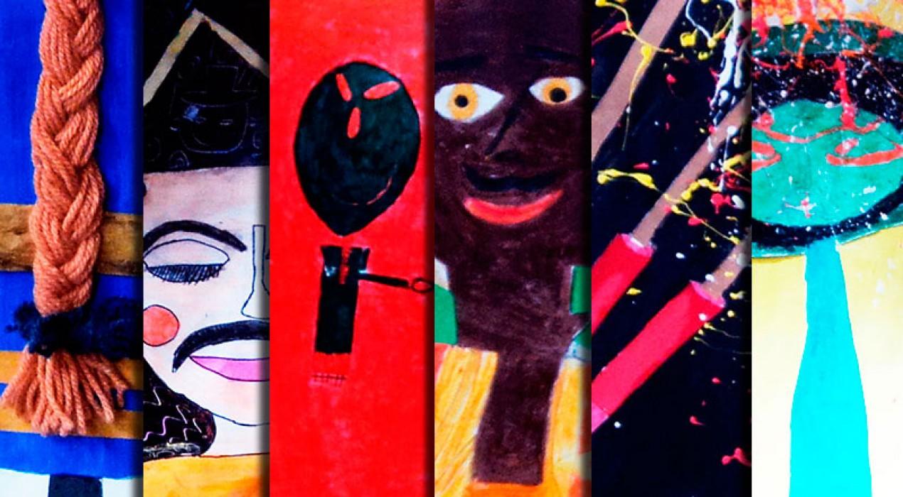 Sis finalistes al concurs de cartells de La Patum Infantil