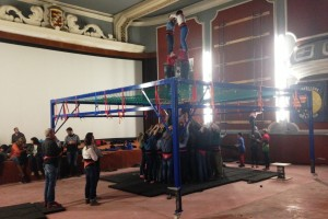 Els Castellers de Berga inicien els assajos al Cine Catalunya