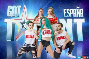 Un gironellenc, amb el grup 'The Killer Sisters', al programa 'Got Talent' de Telecinco