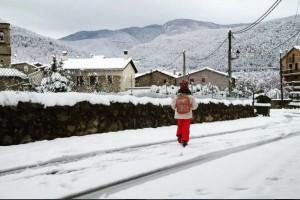 La nevada més important al Berguedà cau a cinc dies de la primavera
