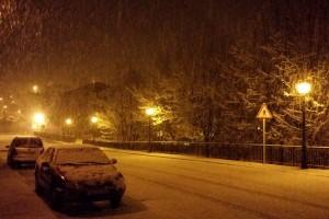 La neu dificulta el transport escolar a l'alt Berguedà, amb 52 alumnes afectats