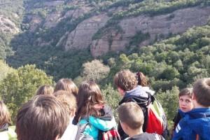 Els estudiants de 6è de les escoles de Berga treballen els parcs naturals
